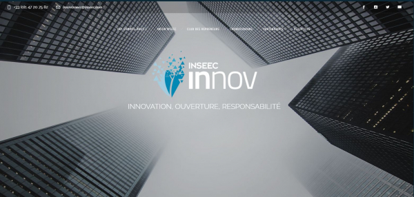 INNOV'INSEEC : le cluster d'innovation du Groupe INSEEC