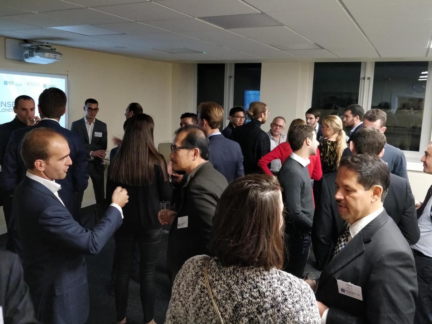 "Retour sur le "" Finance Alumni Networking Cocktail 2018 """